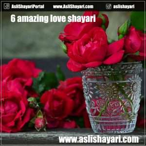 6 amazing love shayari to share with your lover